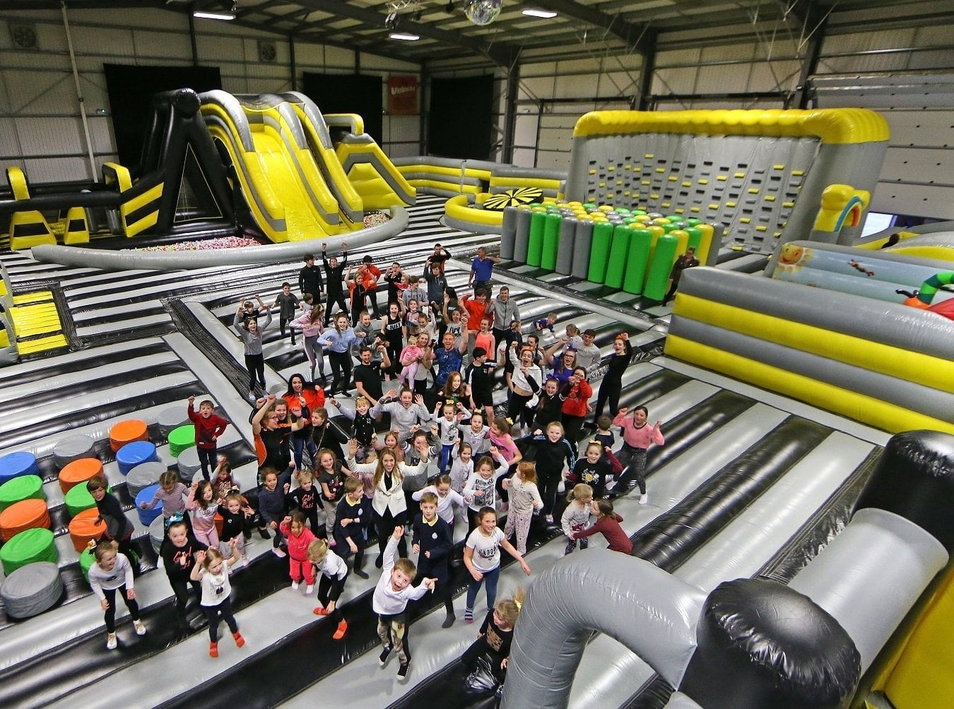 Inflatables Liverpool Widnes Inflatable Park Velocity