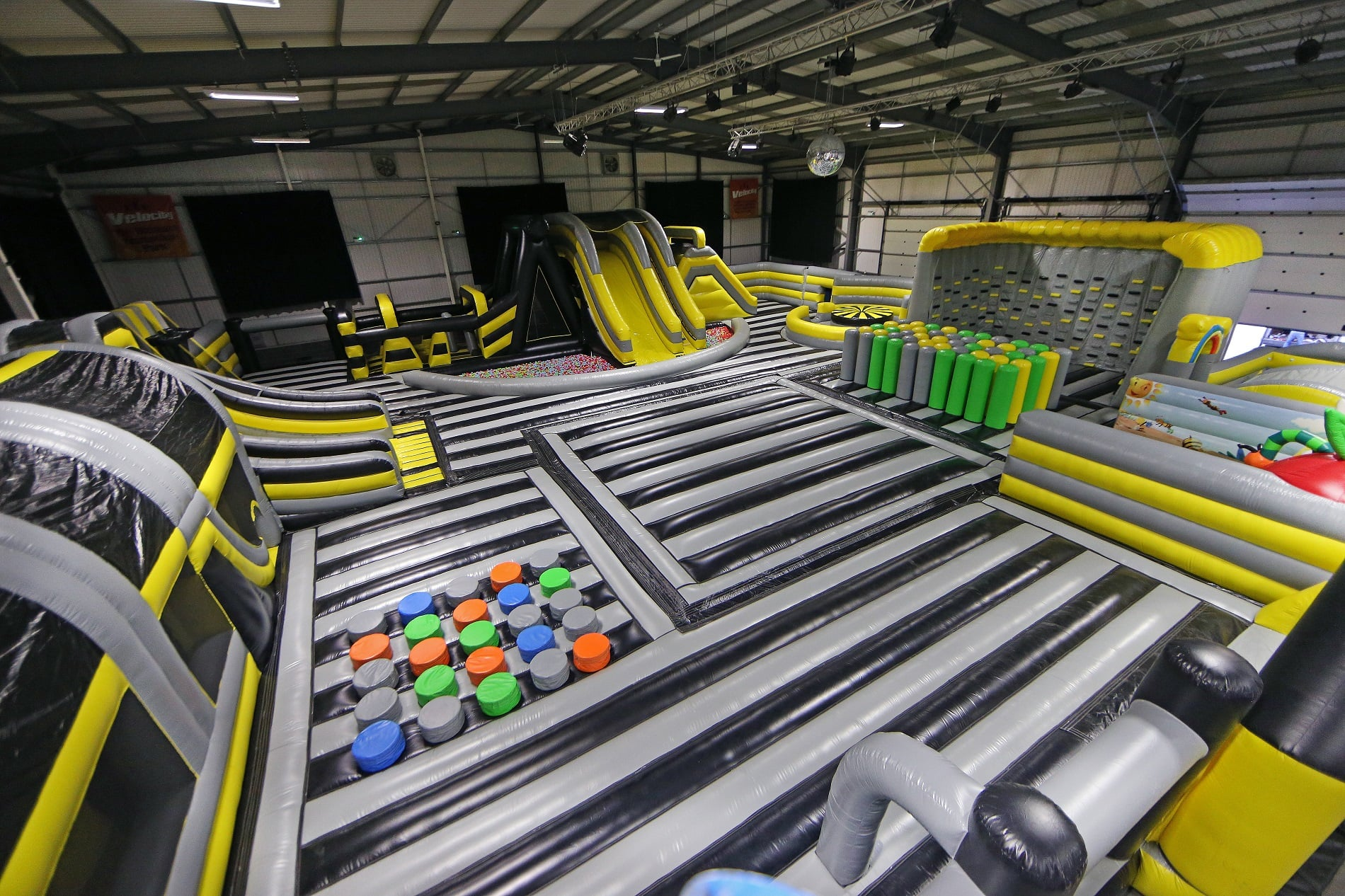 uk s biggest indoor inflatable comes to velocity widnes velocity