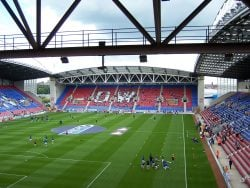 DW Sports Stadium in Wigan