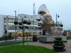 One of Wigan's Most Famous Statues